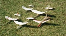 Balsa gliders hand launch gliders hlg model kits chuck gliders